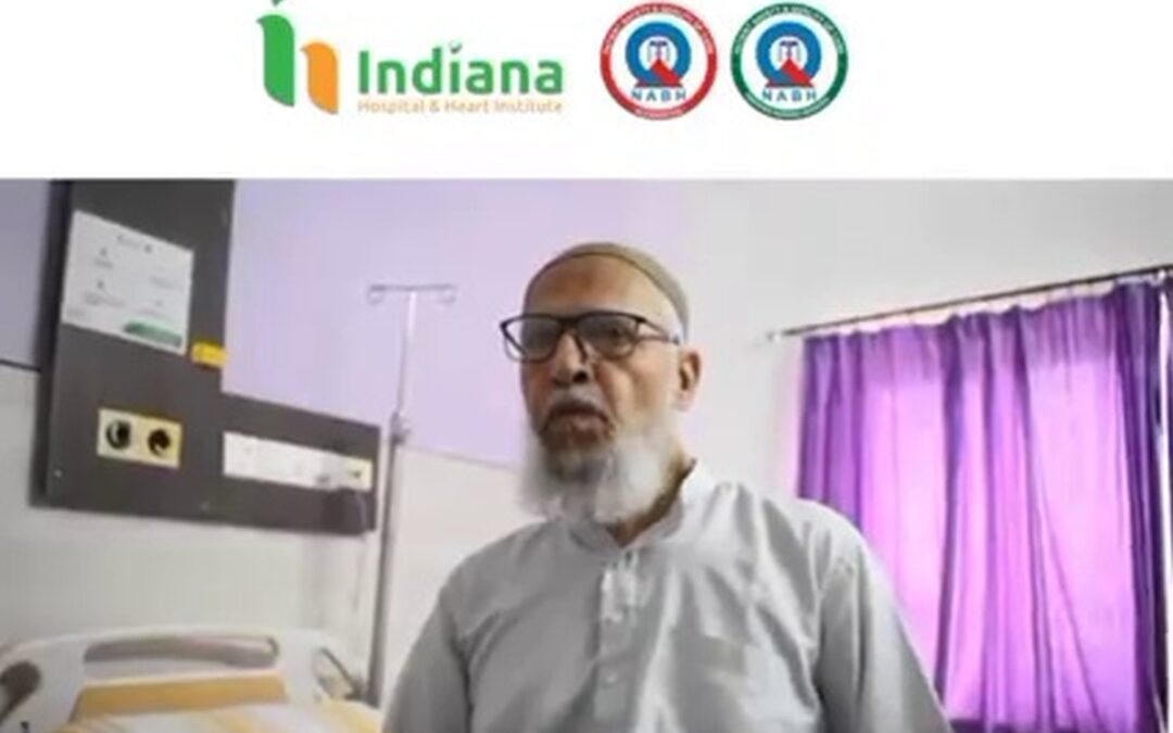 JIH Secretary – Mohammad Iqbal Mulla approached Indiana hospital with severe knee pain & get back to life without the worries of knee pain.