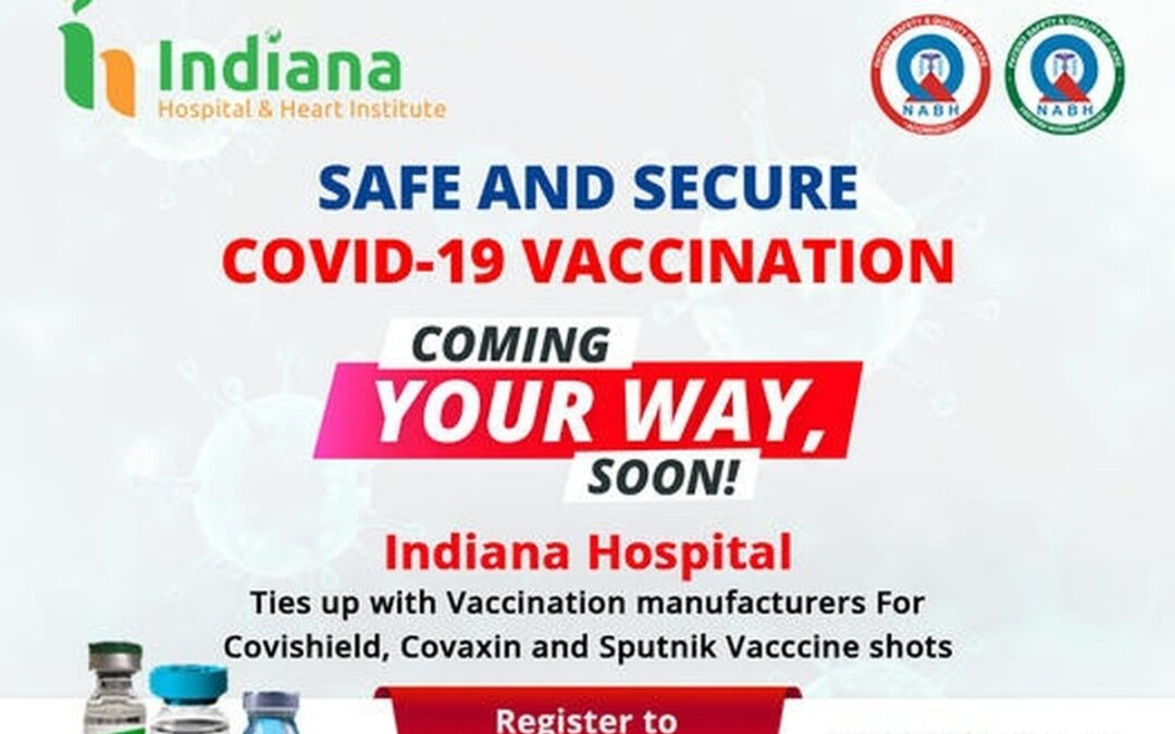 Safe and secure covid-19 vaccination @ Indiana hospital