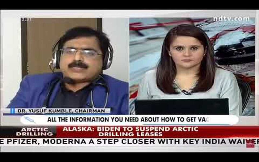 Dr. Kumble's interview on NDTV regarding COVID vaccines